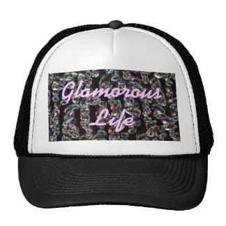 Glamorous Life Crystals Hat