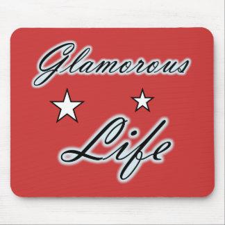 Glamorous Life Stars Mousepad
