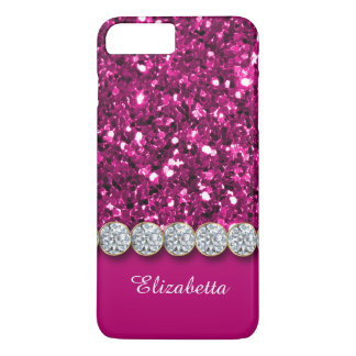 Glamorous Pink Glitter And Sparkly Diamonds Case