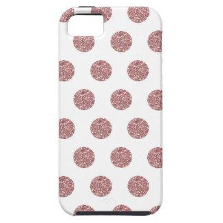 Glamorous Pink Poka Dots iPhone 5 Case