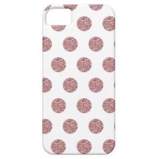 Glamorous Pink Poka Dots iPhone 5 Cases