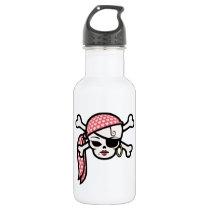 Glamorous Pirate Water Bottle