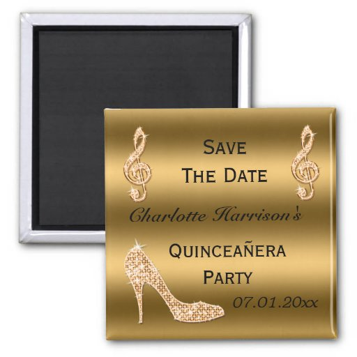 quinceanera save the date