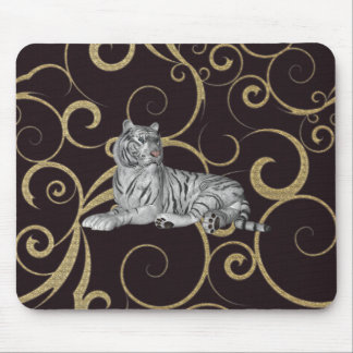 glamorous Tiger Mouse Pad