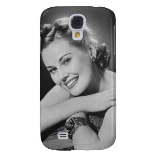 Glamorous Woman Galaxy S4 Case