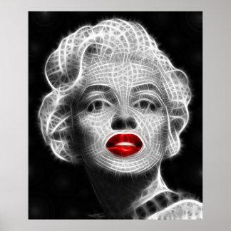 Glamorous Woman Poster