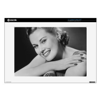 Glamorous Woman Laptop Decal