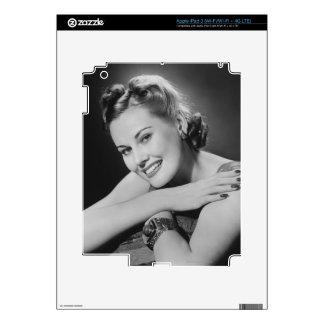 Glamorous Woman Skins For iPad 3