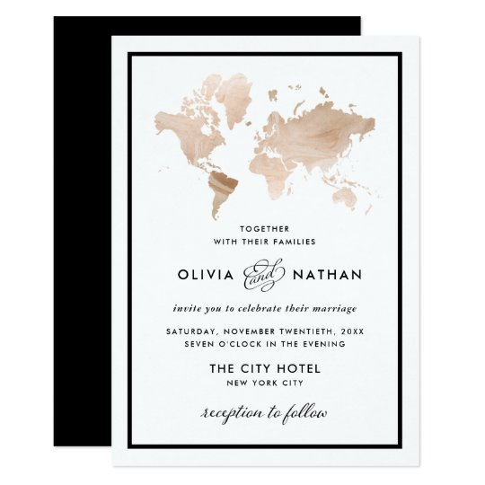 Modern Art Themed Invitations