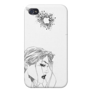 Glamour Apple Girl iPhone 4/4S Cover