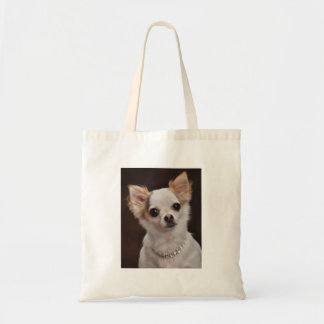 Glamour Chihuahua Diva Canvas Bag