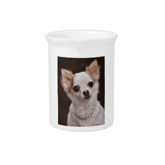 Glamour Chihuahua Diva Beverage Pitchers