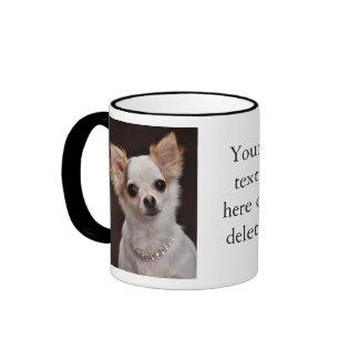 Glamour Chihuahua Diva Ringer Mug
