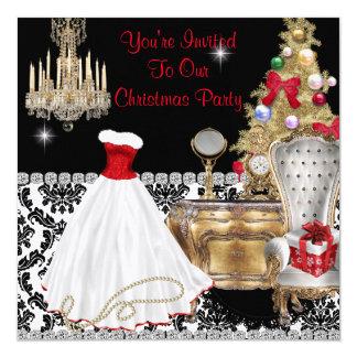 GLAMOUR CHRISTMAS INVITATIONS