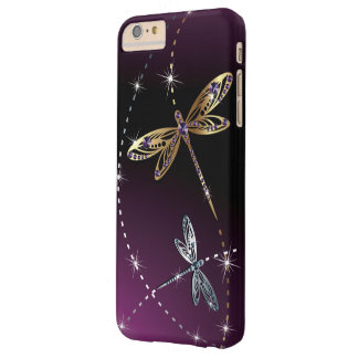 Glamour Diamond Butterfly Barely There iPhone 6 Plus Case