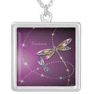 Glamour Diamond Butterfly Necklace necklace