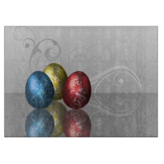 Glamour Easter Eggs - Cutting Board