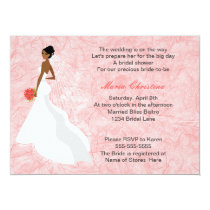 Glamour Girl Bridal Shower Invitation 2a