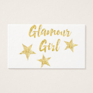 Glamour Girl Business Card