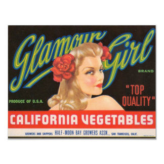 Glamour Girl Card