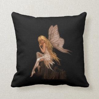 Glamour Girl Fairy Throw Pillow