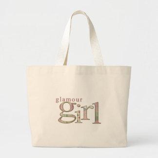 Glamour Girl Large Tote Bag