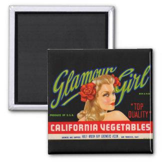 Glamour Girl Magnet