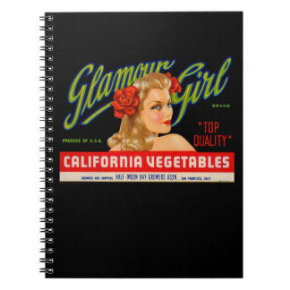 Glamour Girl Notebook