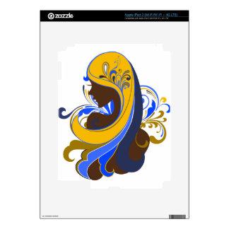 Glamour Girl iPad 3 Decals