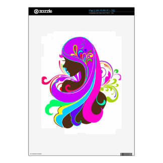 Glamour Girl Skin For The iPad 2