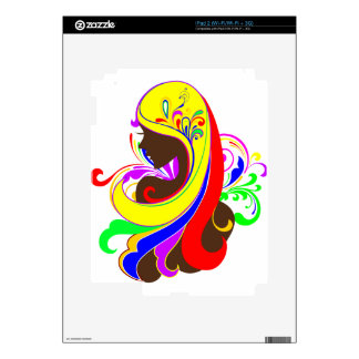 Glamour Girl Decals For iPad 2