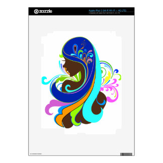 Glamour Girl Decal For iPad 3