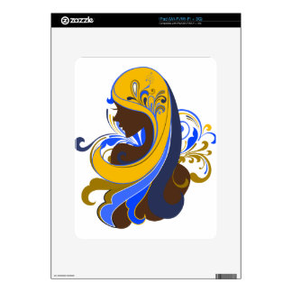 Glamour Girl Skins For The iPad