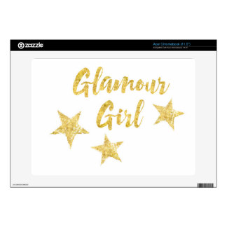 Glamour Girl Skin For Acer Chromebook