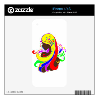 Glamour Girl Skin For iPhone 4