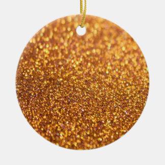 Glamour Glitter Shiny Ceramic Ornament