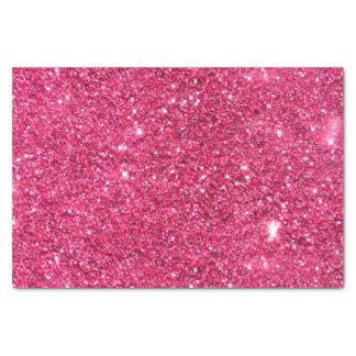"Glamour Hot Pink Glitter 10"" X 15"" Tissue Paper"