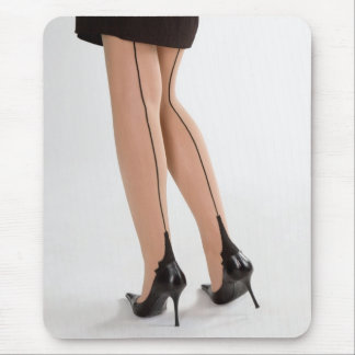 Glamour legs 10 mouse pad
