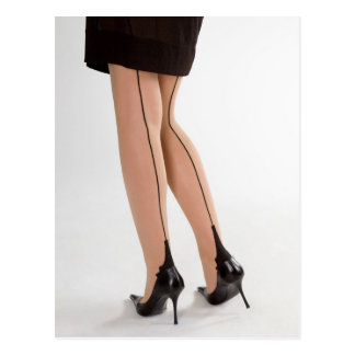 Glamour legs 10 postcard