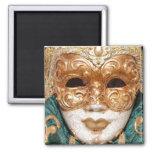 Glamour Mask Fridge Magnets