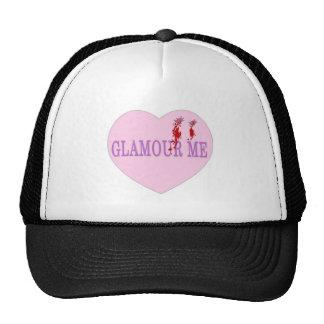 Glamour Me Vampire Heart Mesh Hats