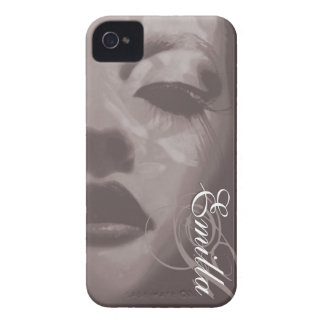 Glamour painted mono fashion iphone4S barely case