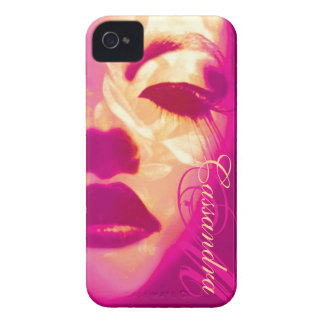 Glamour painted pink fashion iphone4S barely case