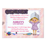 "Glamour Party 5"" X 7"" Invitation Card"