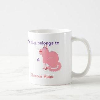 Glamour Puss Coffee Mug