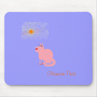 Glamour Puss Mouse Pad