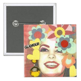 GLAMOUR VINTAGE FLOWER GIRL PINS