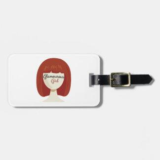 Glamourous Girl Travel Bag Tags