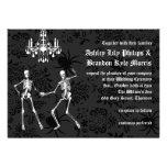 Glamourous Skeletons Wedding Invitation