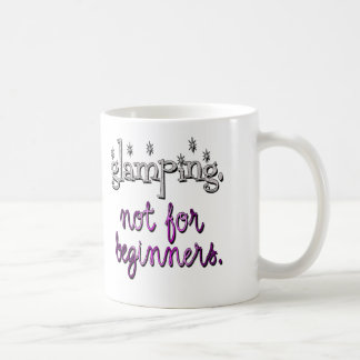 Glamping. Not for beginners Mug